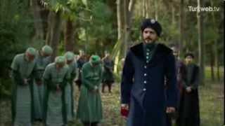 Muhteşem Yüzyıl 123 Bölüm   Mustafa ölmeden önce ailesiyle vedalaşıyor