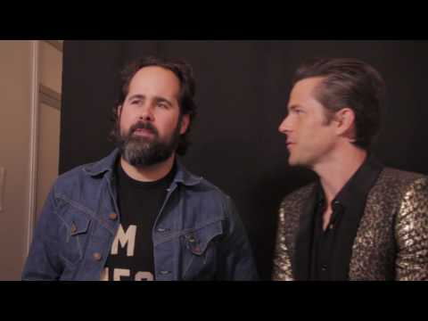 The Killers Interview @ EXIT 2017