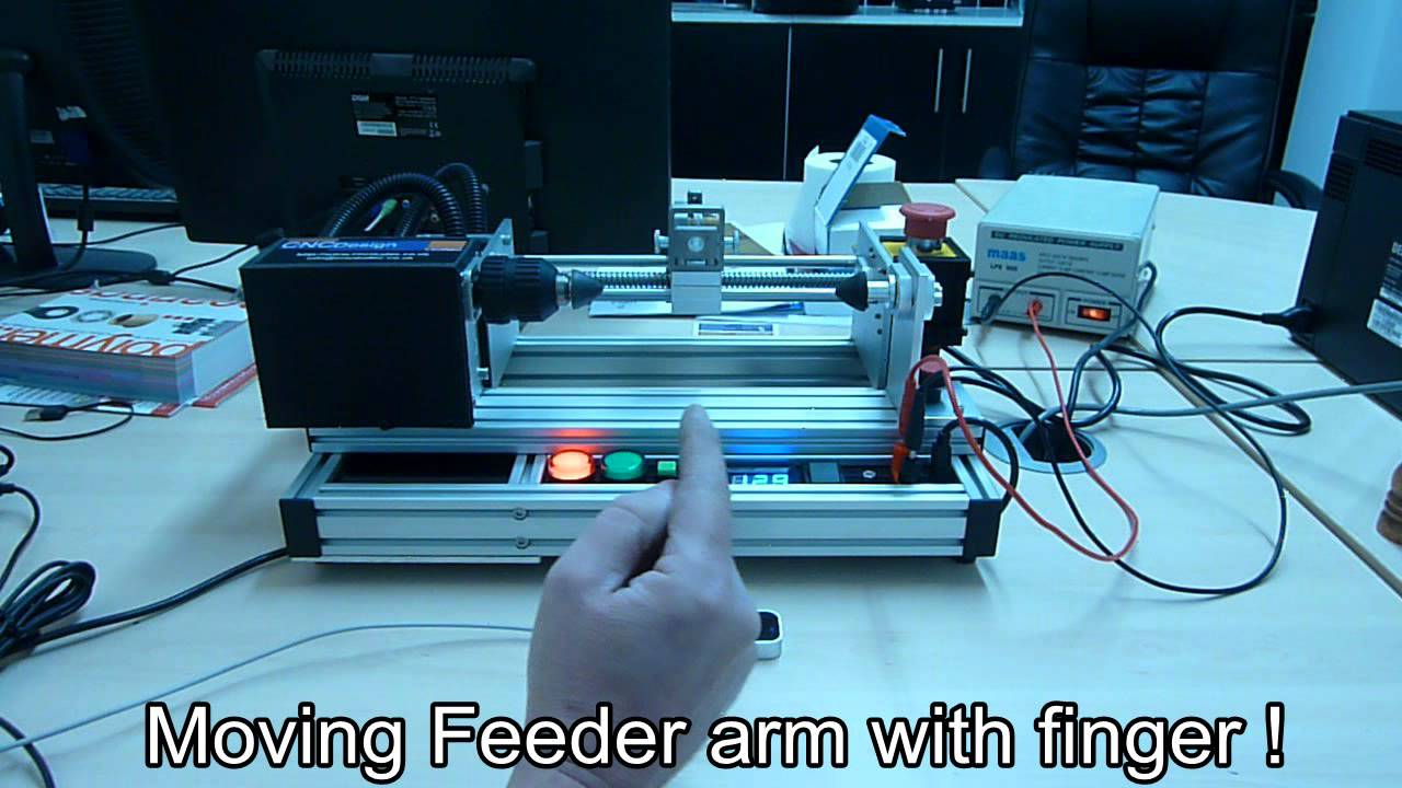 Testing leap motion controller with cnc coil winder for How to test stepper motor