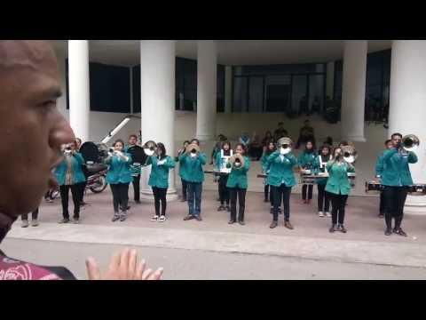 Marching band unimed, main perkaderan 2017