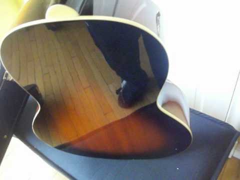 epiphone guitar model el 00 and case nice for sale youtube. Black Bedroom Furniture Sets. Home Design Ideas