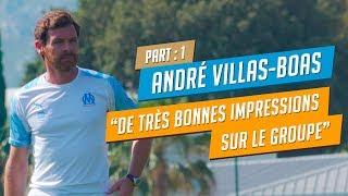 André Villas-Boas : première interview l Partie I