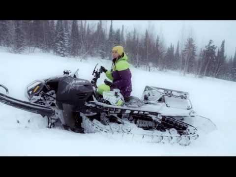 Тест-драйв Lynx Commander Touratech. Снегоход .Квадроциклы и снегоходы. Выпуск 30