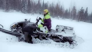 Тест-драйв Lynx Commander Touratech. Снегоход .Квадроциклы и снегоходы. Выпуск 30(Смотрите в этом выпуске: Lynx Commander Touratech Программа квадроциклы и снегоходы - первый и пока единственный на..., 2015-12-08T15:23:12.000Z)