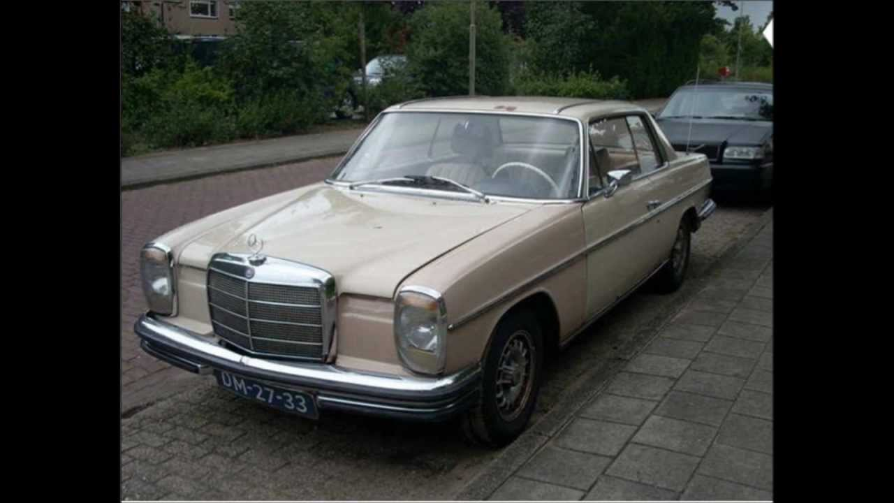 mercedes benz coupe 250ce w114 1969 youtube. Black Bedroom Furniture Sets. Home Design Ideas