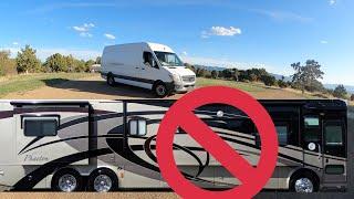 WHY I'M NOT TAĶING MY RV ON A ROADTRIP TO NORTH DAKOTA