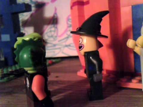 lego spongebob halloween SCAREDY PANTS