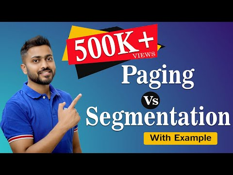 Segmentation Vs Paging | Segmentation Working | Operating system