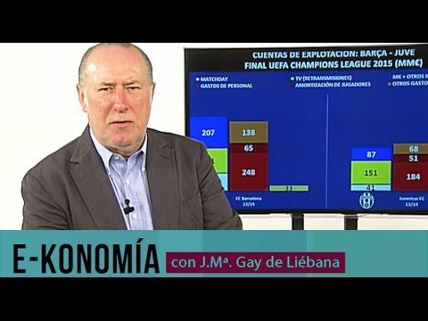 Barça y Juve: La final en clave económica