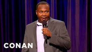 Roy Wood Jr. Stand-Up 09/11/12 - CONAN on TBS