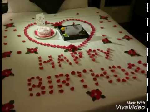 How To Decorate Room For Birthday For Boyfriend Youtube