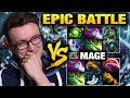 MIRACLE VS MAGE - EPIC BATTLE!!! Who Will Get the Glory Dota 2