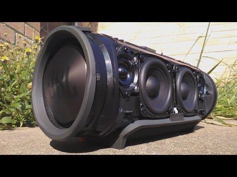 JBL Xtreme Bass Test | Tropkillaz - Hideho (Dissembled)