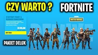 PACKAGE DELUX Fortnite world rescue | Is it worth it? + 5 x UlepszLama Oppening