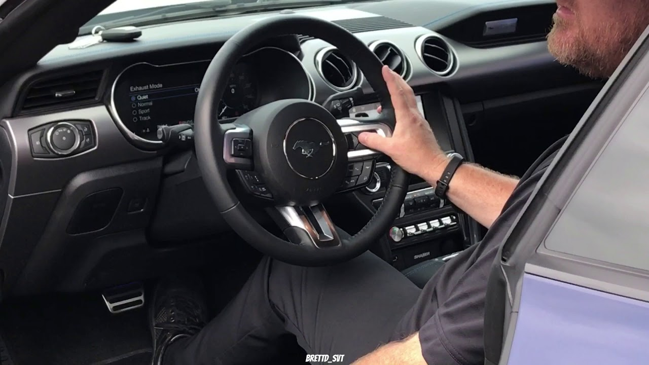 Don Davis Ford >> 2018 Mustang active valve performance exhaust - YouTube