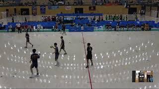 20180729 男子ハンドボール 3回戦 愛知愛知県対 北陸福井県サオリーナAコート