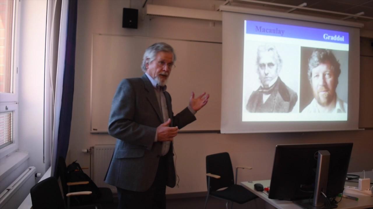 Dr  Robert Phillipson, Professor Emeritus, Copenhagen Business