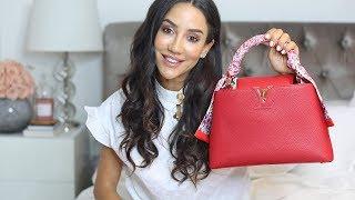 LOUIS VUITTON CAPUCINES   Whats In My Bag & Full Review   Tamara Kalinic