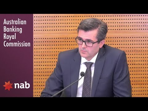 NAB's Head of Broker Partnerships testifies at the Banking Royal Commission