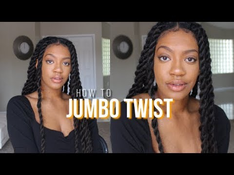easiest-quickiest-protective-style-ever!!!-jumbo-twist-under-2-hours!!