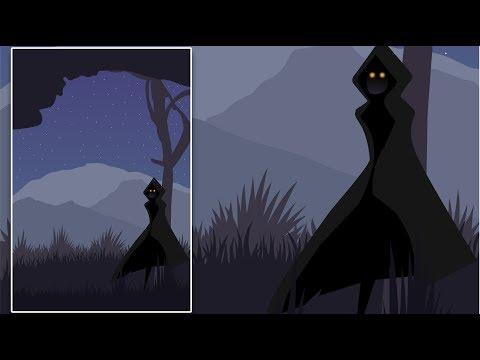 Illustrator Tutorial| Walking in the Darkness (Drawing Vector Art) thumbnail