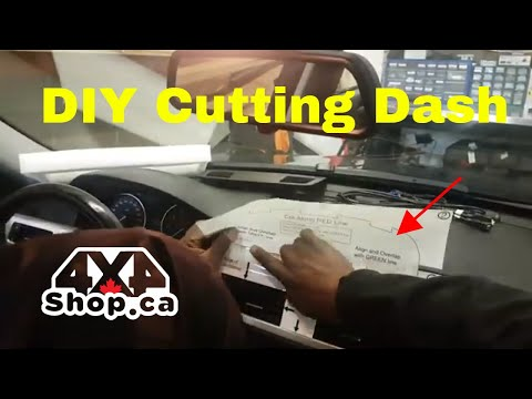 DIY How to install 10.25 android 8.1 screen 2006-2011 BMW 3 Series E90 Tutorial with Cutting Dash