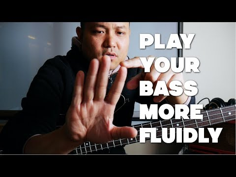 Bass Guitar Technique Lesson - 5 Crucial Tips For Improving Your Fluidity On The Bass