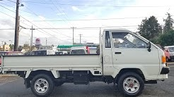 Toyota Townace truck diesel 4x4 1990 only  6,700ml Seattle WA PARTS -2