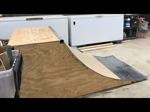 Building a Quarter Pipe