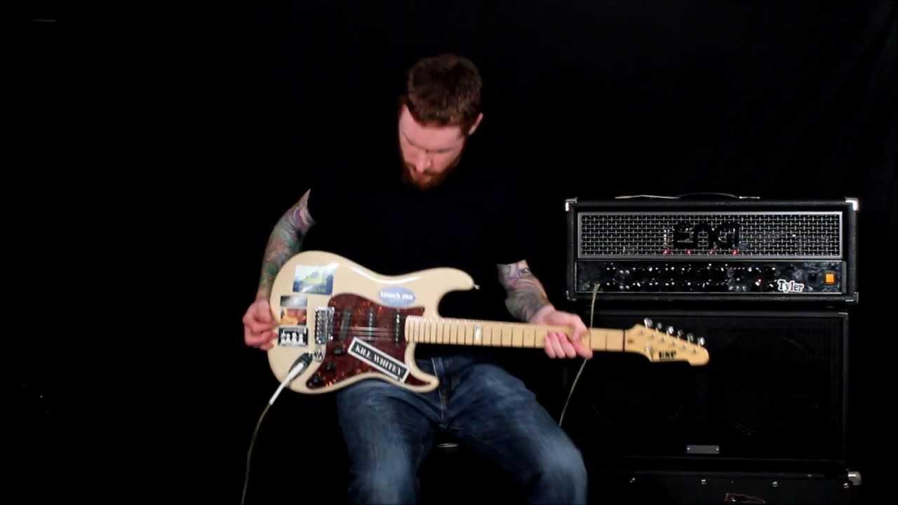 esp custom guitar review strat youtube. Black Bedroom Furniture Sets. Home Design Ideas