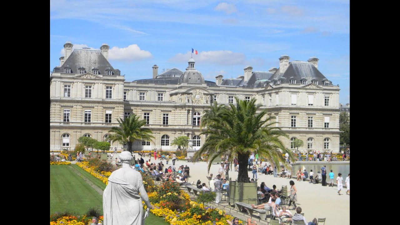 Paris le jardin du luxembourg youtube for Jardin luxemburgo