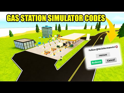 gas station simulator codes roblox