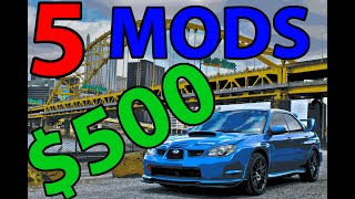 homepage tile video photo for 5 Easy Car Mods for $500 or LESS!