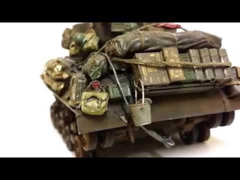 1/35 Fury vs Tiger diorama