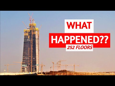 Jeddah Tower 2020 Update Timelapse | 1000m+ World's Tallest Building