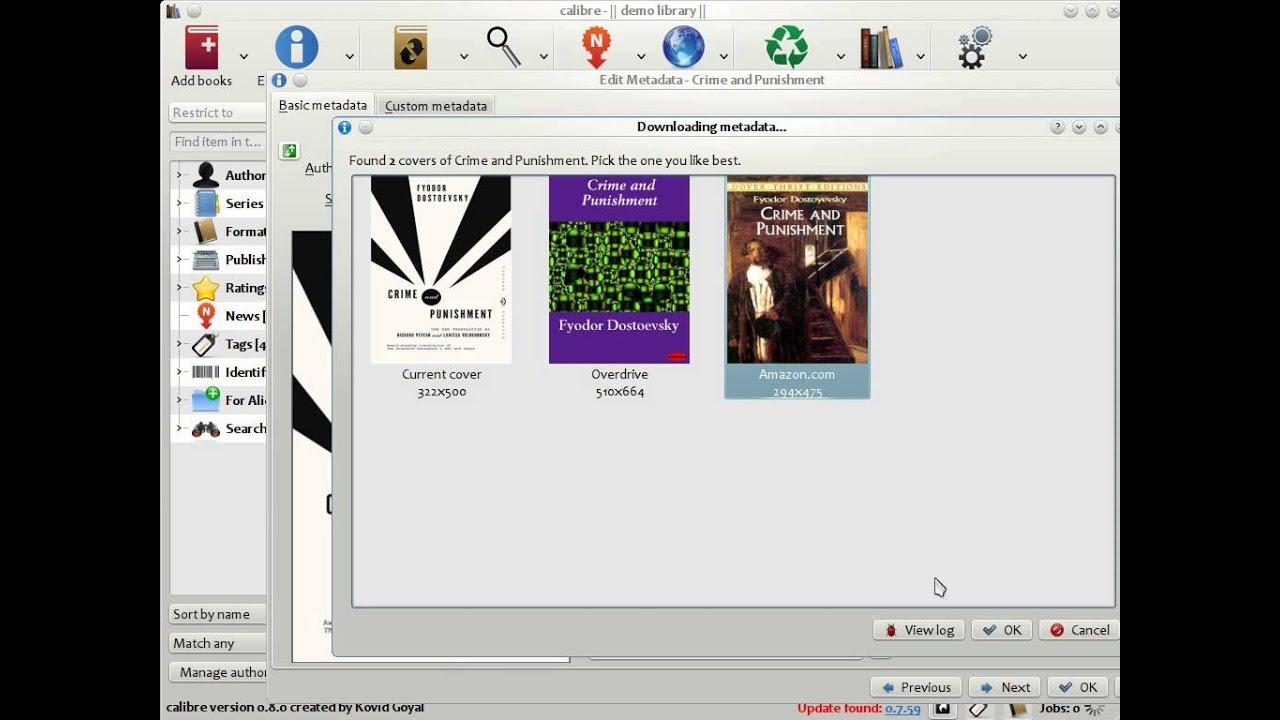 Calibre Ebook Library