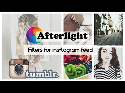Afterlight filters for instagram feed