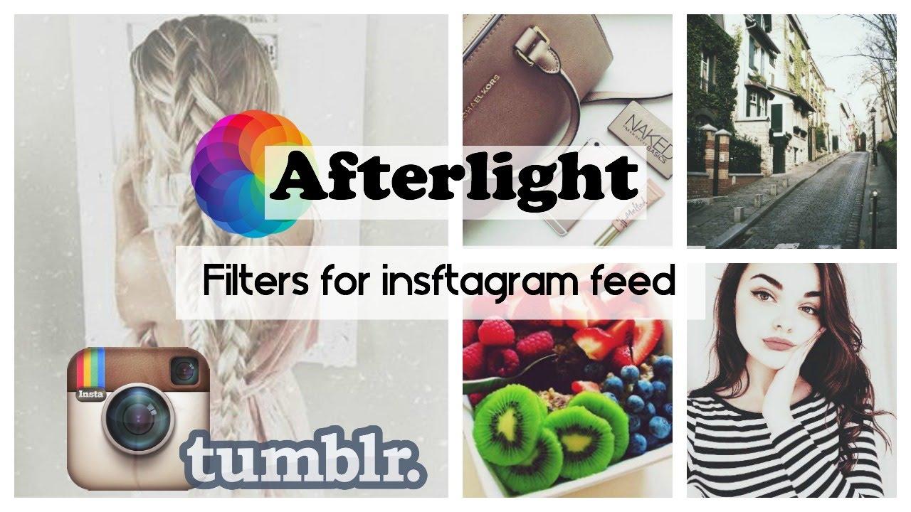 Картинки по запросу фильтры Afterlight в инстаграм
