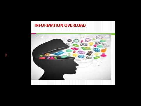 Information Overload and Healthy Computing