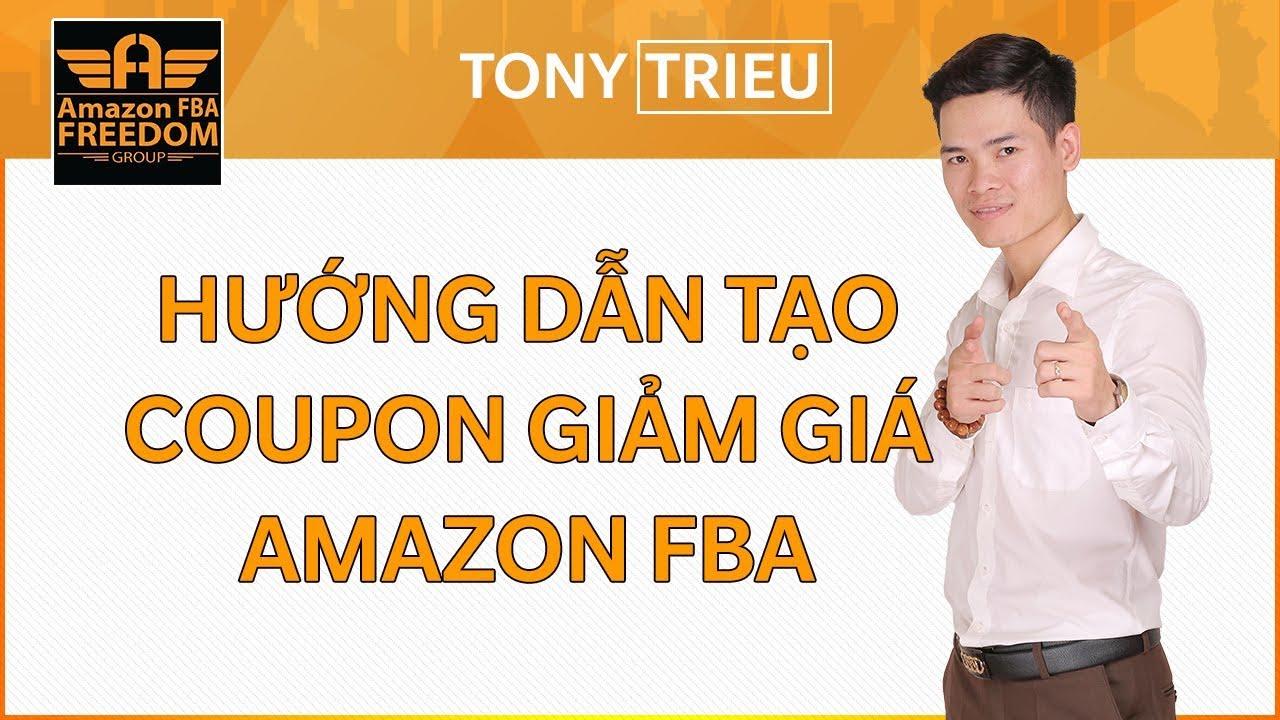 Hướng dẫn Tạo coupon giảm giá – Amazon Fba Freedom