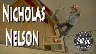 Nicholas Nelson at All In Skatepark