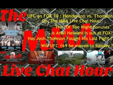 UFC on FOX 10: Benson Henderson vs. Josh Thomson Post Event Discussion On 'The MMA Live Chat Hour'