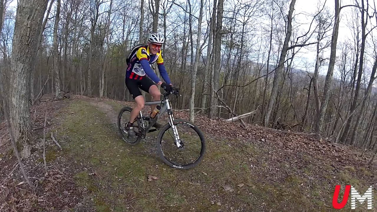 Mountain Biking at Hungry Mother State Park - YouTube