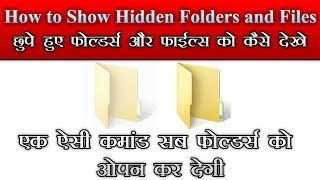 show hidden files and folders from virus infected pen drive or hard disk