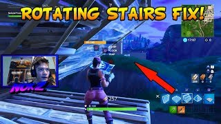 ROTATING STAIRS BUG *FIX* FORTNITE BATTLE ROYALE [Fortnite #232]