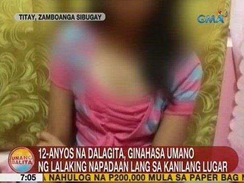 UB: 12-anyos na dalagita, ginahasa umano ng lalaking napadaan lang sa kanilang lugar