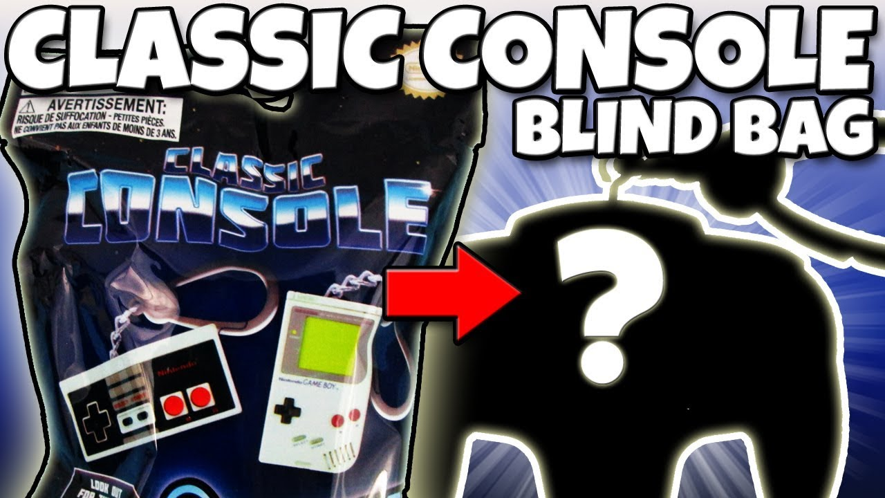 CLASSIC CONSOLE Nintendo Backpack Buddy BLIND BAG OPENING Toy Review |  Trusty Toy Channel