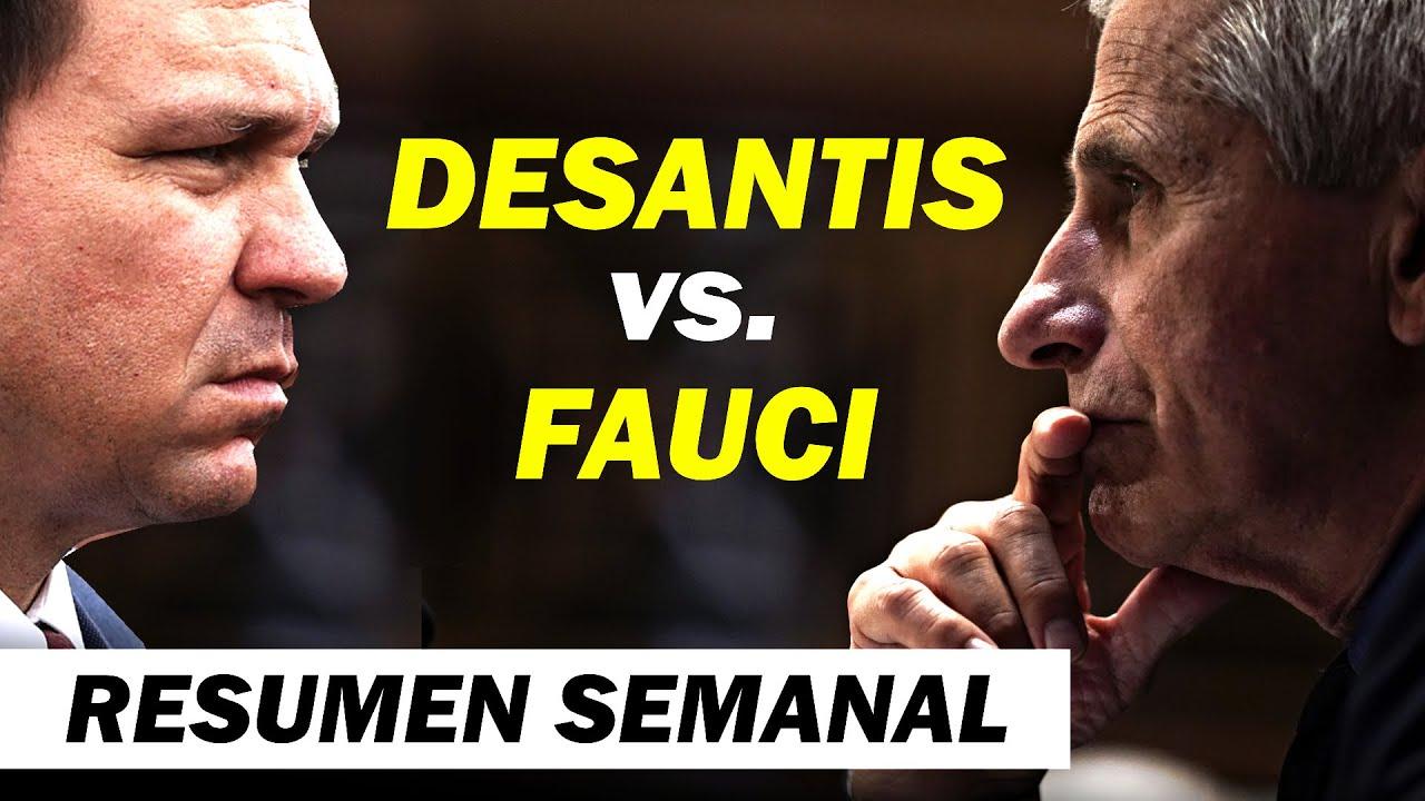 """DeSantis vs. Fauci  Gallagher: """"Hay que llegar al fondo del asunto""""  """"Terremoto en Washington D. C."""""""