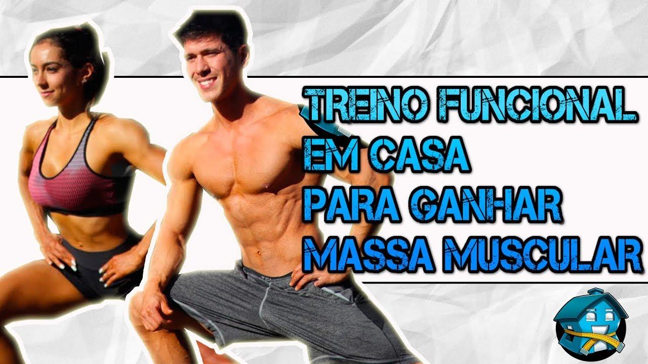 Treino DE PERNAS E GLÚTEOS Para Ganhar Massa Muscular