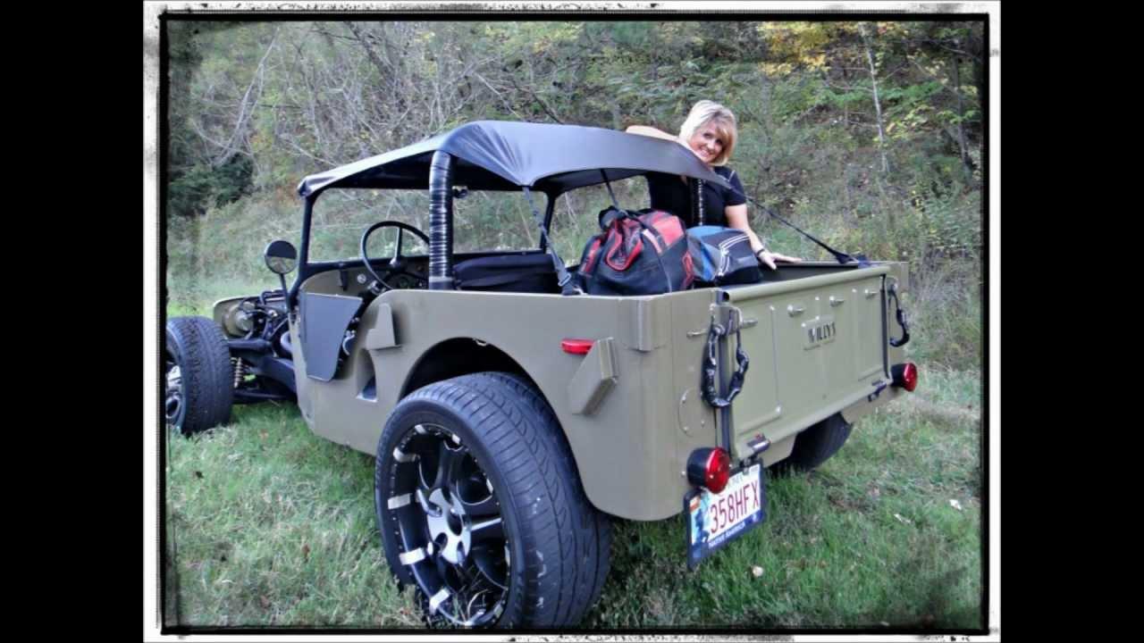 Willys Jeep Rat Rod - YouTube